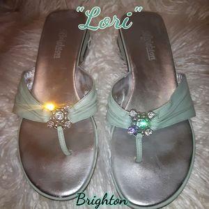 "Swarovsky Crystal Blingy ""Lori"" Brighton Sandals"